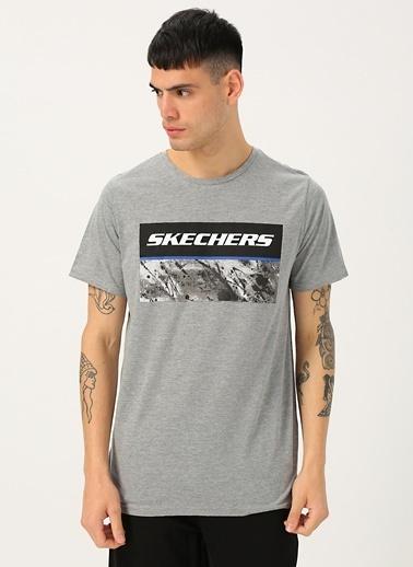 Skechers Tişört Gri